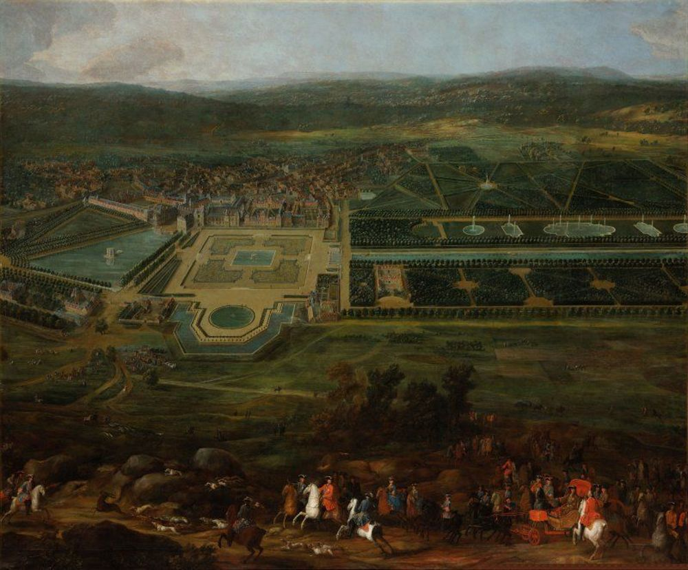 Pierre-Denis Martin - View of the Château de Fontainebleau.jpg